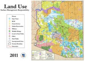 AZ State Land Map