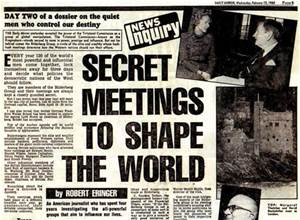 secret meetings to save the world
