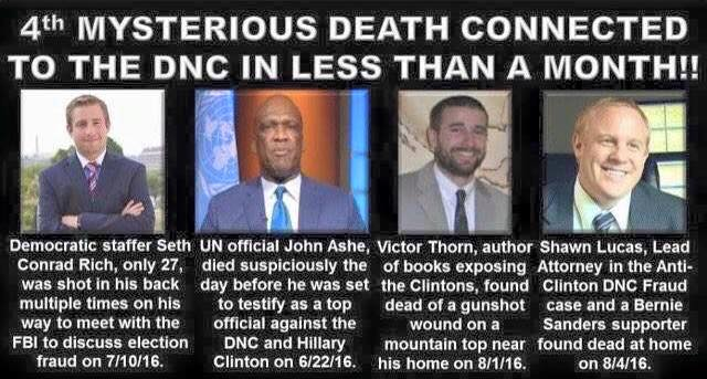 4 DNC murders