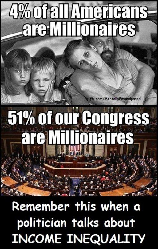 millionaires in Congress